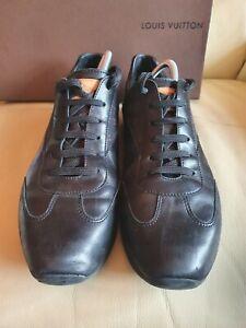 Mens LOUIS VUITTON Black Trainers Shoes  44 UK  10 US 11  Genuine SPARES REPAIR