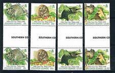 Solomon Is 1997 Common Phalanger Gutter Pr SG 884/7 MNH
