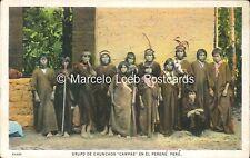 PERU INDIOS GRUPO DE CHUNCHOS CAMPAS EN EL PERENE 62680