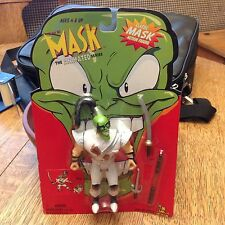 "1997 THE MASK ANIMATED SERIES 5"" ACTION FIGURE SEALED PACKAGE Ninja Mask"