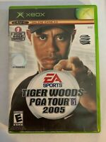 TIGER WOODS PGA TOUR 2005 - XBOX - MISSING MANUAL - FREE S/H - (T8)