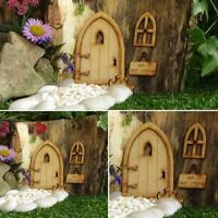 Wooden Fairy Door Fairy Window Fairy Sign Fairy Garden Door Fairy  Accesso r