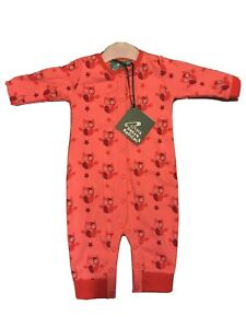 Little Green Radicals Organic Starry Eyed Elephant Babygrow 9-12 months