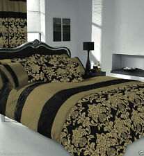 APACHI Quilt Duvet Cover & Pillowcase Bed Set-  Matching PILLOWCASES , CURTAINS
