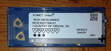 New Komet W29 24010.048425/WOEX05T304-01 BK8425 Factory Pack of 10 Inserts