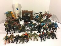 Huge Collection Chap Mei Soldier Force Police Action Figures Weapons Vehicles