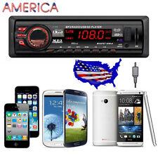 In Dash Car Audio Bluetooth Stereo Head Unit MP3/USB/SD/AUX/FM Input AUX Car MP3