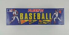 FLEER 91 720 Trading Cards 50 Logo Stickers Pro-Visions Set MLB Factory Sealed