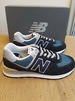 NEW IN THE BOX NEW BALANCE ML574ESS Dark Navy with Marred Blue SHOE FOR MEN
