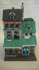 Department 56 Christmas in the City Chocolate Shoppe Building #56984 from 1988
