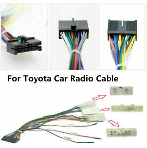 for Toyota Android DVD GPS Multimedia  20 PIN Wiring Harness Connector Adapter *