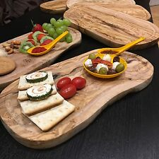 1 X Rustic Olive Wood Chopping / Serving / Carving Board
