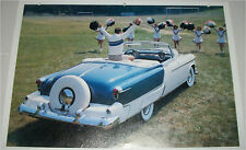 1953 Oldsmobile Fiesta Convertible car print (blue & white, no top)
