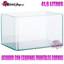 BettaShop.es Acuarios de Cristal con Frontal Curvo 4,5 L