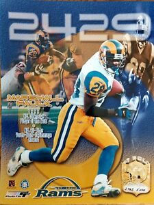 Marshall Faulk 1999 NFL OFFENSIVE PLAYER OF THE YEAR 8x10 PHOTO  St.Louis Rams