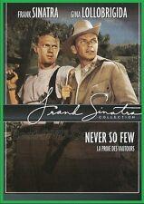 Never So Few (1959) - Frank Sinatra, Gina Lollobrigida - DVD NEW