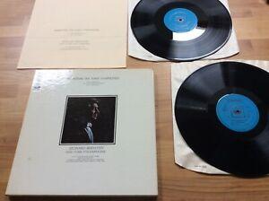 Bernstein the three symphonies New York Philharmonic 2 LP box cbs NM