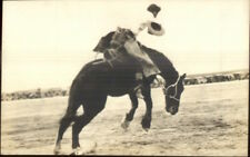 Rodeo Cowboy Pereira Studio Tucson AZ c1920s-30s Real Photo Postcard