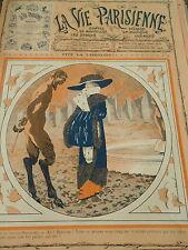 Vive La Crinoline Le Satyre du Bois de Boulogne Couverture Print Cover 1910