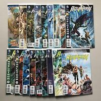 Lot of 18 Aquaman (2011 5th Series) from #5-49 Annual 2 VF-NM Near Mint