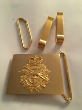 Canadian Forces Military Unused Belt Buckle with Keepers