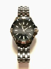 100M V158 0Ah0, Black, Stainless Band Seiko Men's Watch Sne177 Solar Powered