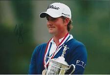 Webb SIMPSON SIGNED AUTOGRAPH Golf Photo AFTAL COA 2012 US Open WINNER