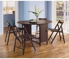 Folding Oval Contemporary Kitchen & Dining Tables