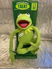 Talking Kermit Large Plush New Applause Muppets