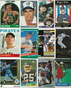 Huge Lot (100) Different Indiana State Sycamores Alumni Cards Larry Bird Barmes