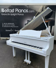 More details for rosler 5ft white baby grand piano|belfast pianos||