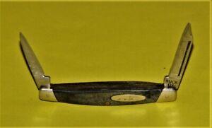 "Vintage Buck USA No. 309 Small 2 Blade Pocket Knife 3"" Closed Length"