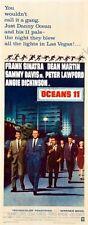 Oceans 11 Movie Poster Insert 14inx36in 36cmx92cm Rat Pack Replica