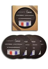 Camaro Generations Recycled Rubber Tire Coaster Set - (4 pc.)