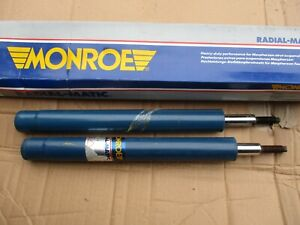 MR828 New Pair Monroe Front Shock Absorbers Fits Audi 50 VW Derby Polo