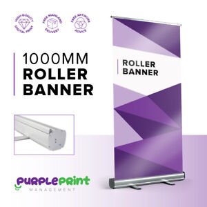 1000mm wide Roller Banner / Pop Up / Pull Up Exhibition Stand - Trade Show