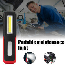 USB Rechargeable 3W COB LED Work Light Magnetic Emergency Flashlight Torch, H4H8