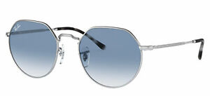 Ray-Ban JACK RB 3565 Silver/Blue Shaded 53/20/145 unisex Sunglasses