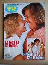TV Sorrisi e Canzoni n°30 1980 Bjorn Borg La Sberla Speciale TV Sovietica [G589]