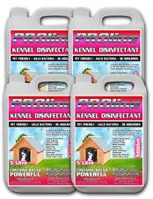 Proline Dog Kennel Disinfectant 5ltr x4 Bubblegum Fragrance Odour Remove