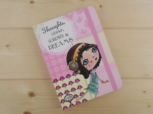 NEW PRETTY PINK VERITY ROSE A6 BLANK SOFTBACK NOTEBOOK THOUGHTS IDEAS STATIONERY