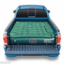 AirBedz Mid Size Lite Green Truck Bed Air Mattress w/ Pump Sleep Camp Inflatable