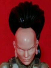 "The walking dead Morgan 1//18 Scale 3.75/"" custom head for use with gi joe MH004"