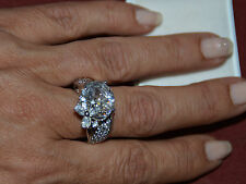 Aussergewöhnlicher Ring Silber 925 SWAROVSKI Zirkonia Gr.59 /18,8mm NEU !