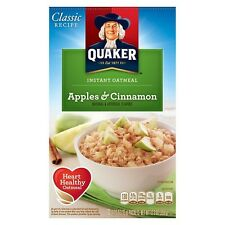Quaker Instant Oatmeal Apple & Cinnamon 430g