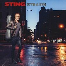 57th & 9th [Deluxe Version] Sting CD Nov-2016, Interscope (USA) NEW SEE DETAILS