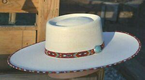 """Atwood Hat Company - Santa Fe Nevada 15X Palm Leaf Vaquero Cowboy Hat  4.5"""" Brim"""