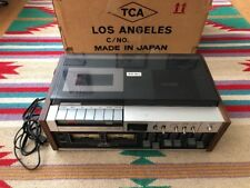 TEAC A-450 Stereo Audiophile Top Load Cassette Deck Original Box + Shipping Box