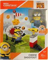 Mega Construx Despicable Me 3 Minions Cheese Shootout Building Blocks 30 pcs