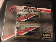 G. SKILL RIPJAWS 16 GB DDR3 1600 MHz PC3-12800 DDR3L Memory (F3-1600C11D-16GRSL)